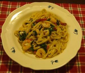 Mediterranean Shrimp & Pasta