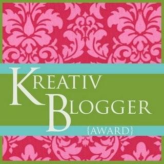 Logo - kreativ blogger award