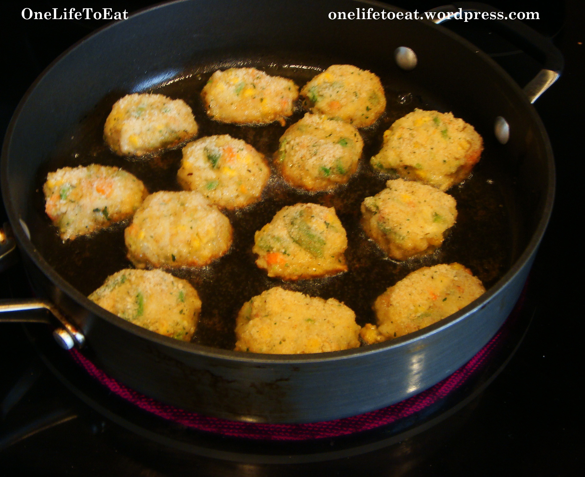 Vegetable Patties One Life To Eat