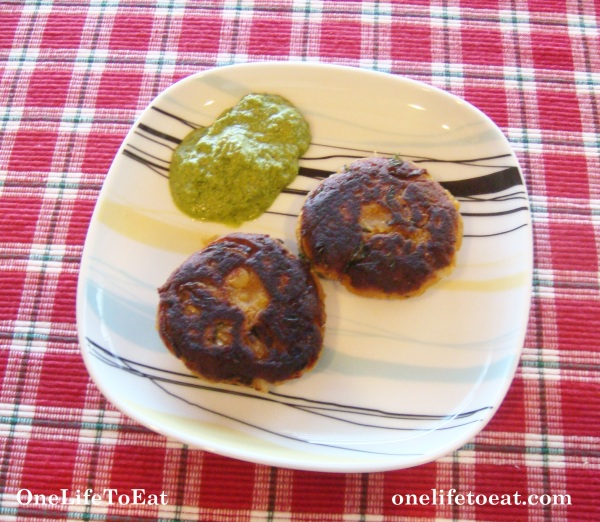 Chana dal patties