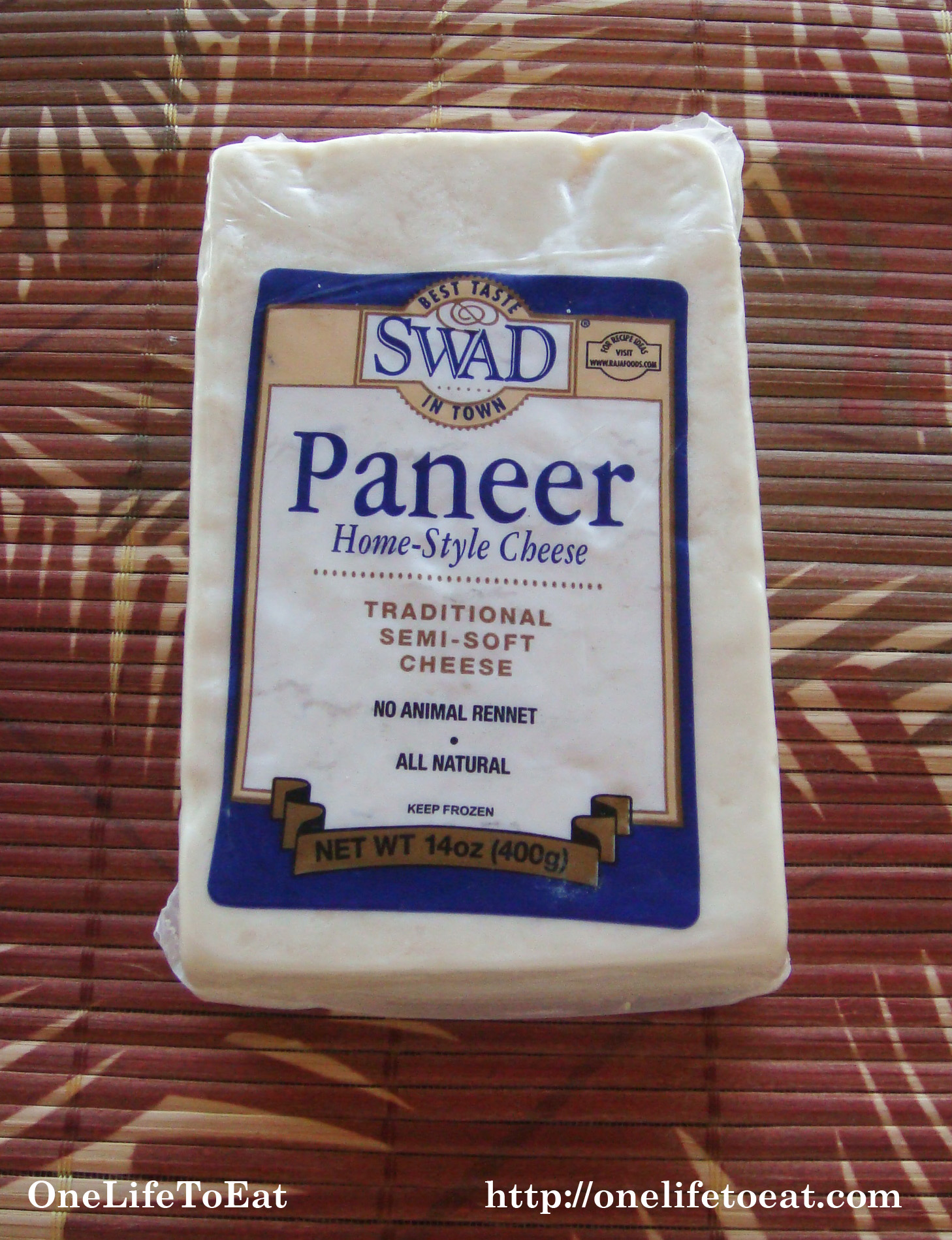 Exceptional Block Of Paneer