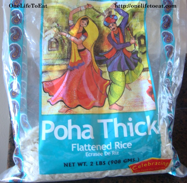 Poha packet