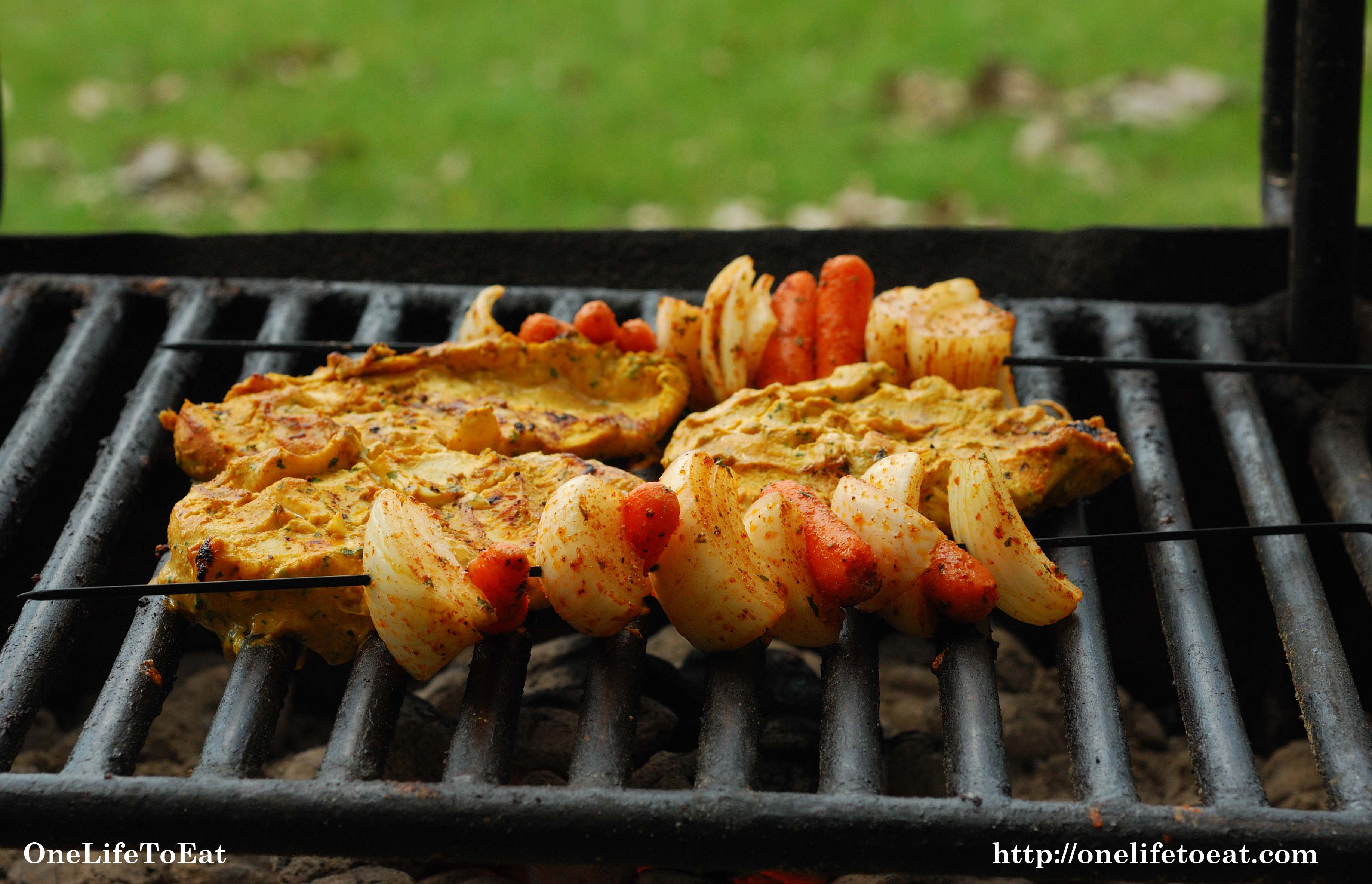 Tandoor Style Grilling One Life To Eat
