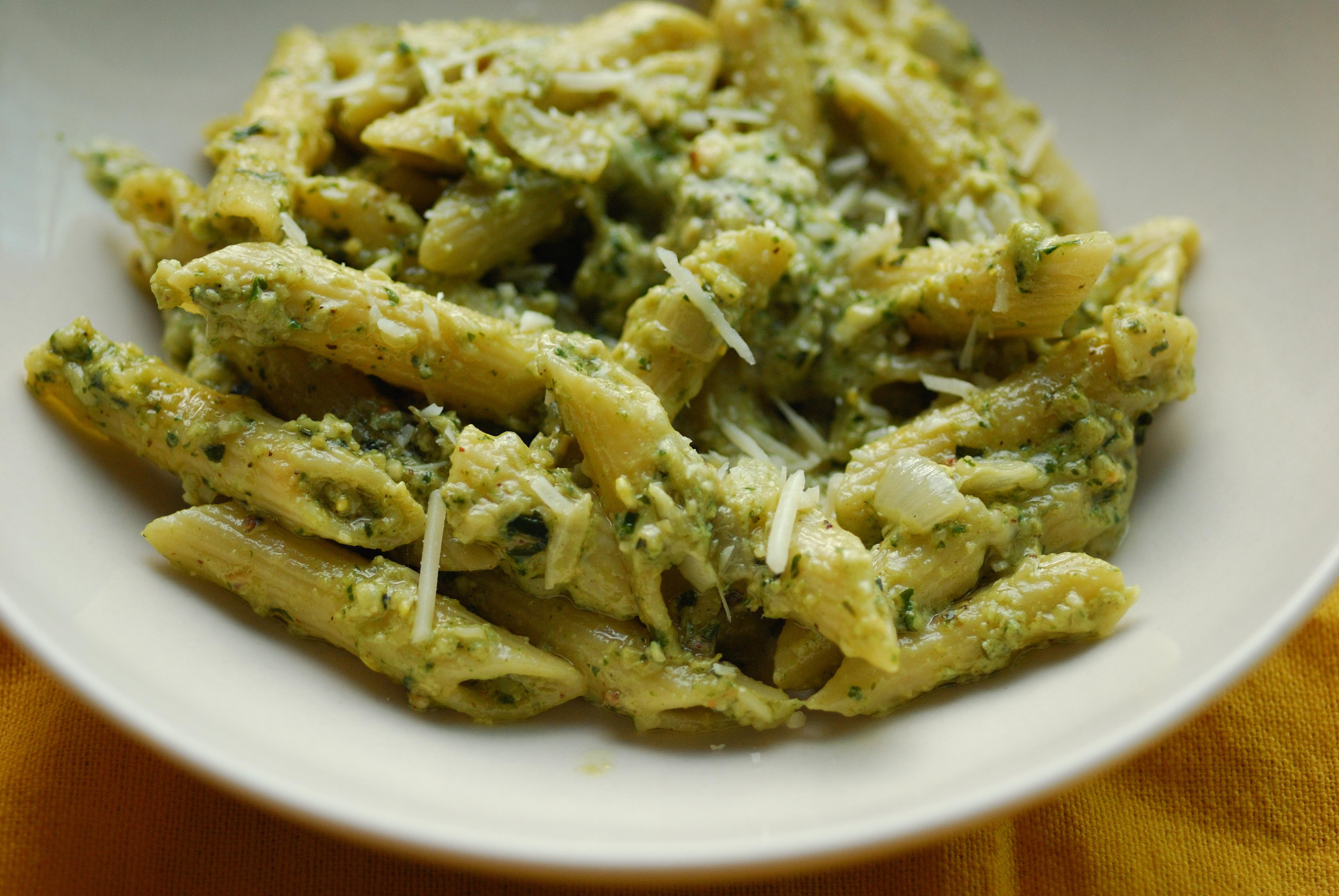 Pesto Pasta and Gajar ka Halwa or What I made with the ...