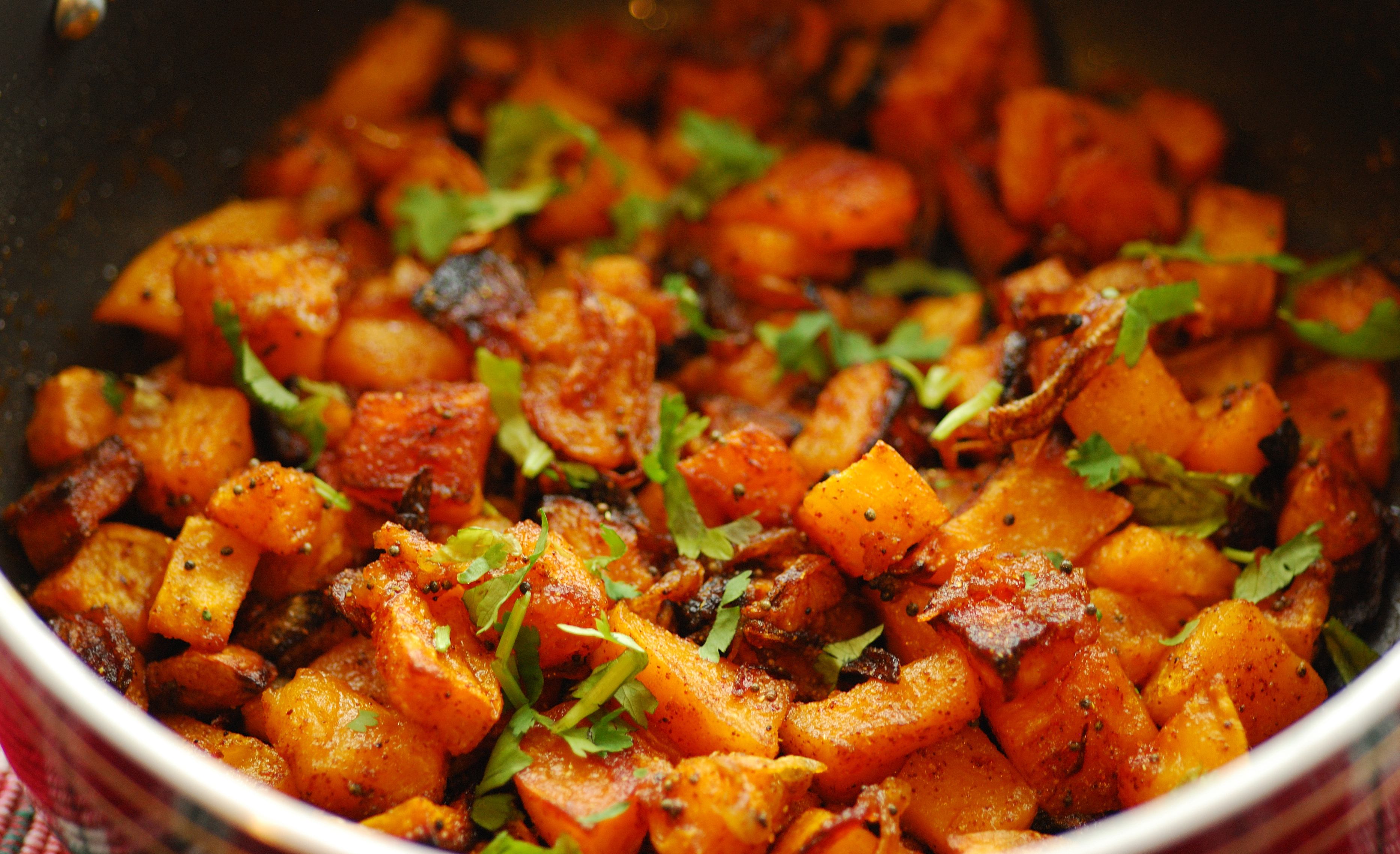 Easy Butternut Squash Sabzi Indian Veg Preparation And How To