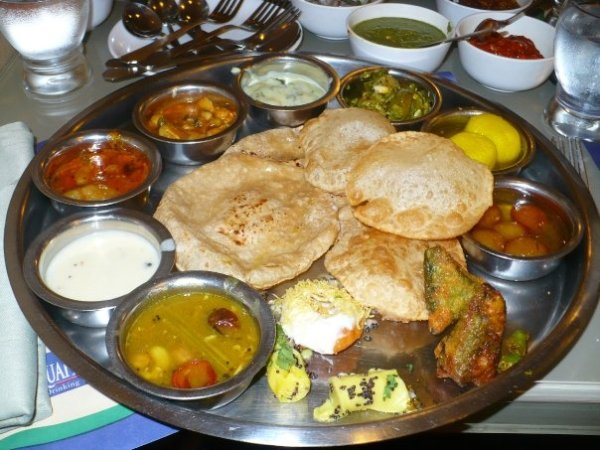 An authentic Indian 'thaali' - from OneLifeToEat's most popular post in 2011