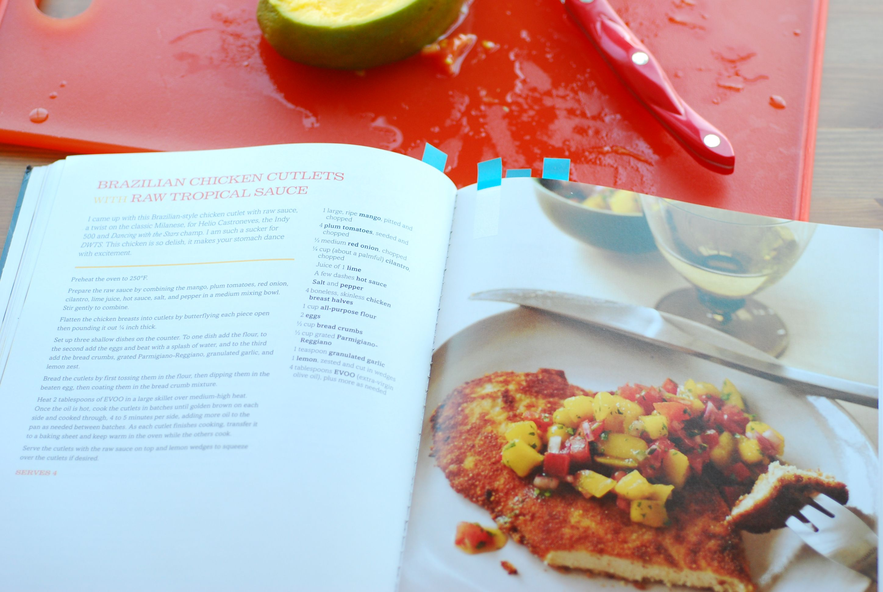 Cooking with rachael ray brazilian chicken cutlets with raw so forumfinder Gallery