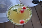 My entry: Honey-mint-lemon Margharita