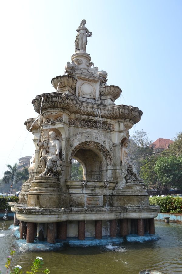 Flora Fountain, Mumbai, India