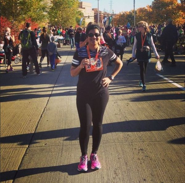 At the St. Paul Monster Dash in October 2014
